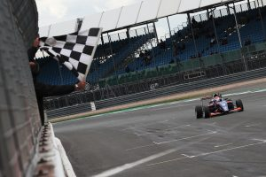 Clement Novalak takes a win at Silverstone in the BRDC British F3 Championship